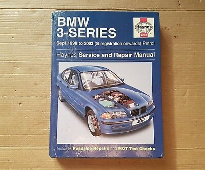 bmw 3 series e46 haynes manual 98 03 no 4067 7 99 picclick uk rh picclick co uk haynes manual 4067 pdf haynes manual 24068