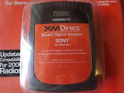 NEW Terk XM Satellite Radio SONY XM Direct Smart Digital Adapter #XMDSON110