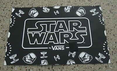 Vans Star Wars Advertising / Display Sign 12 inches X 8 Inches