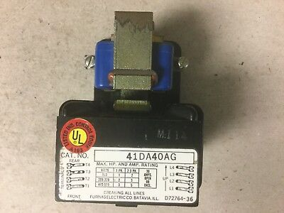 Furnas 41DA40AG Contactor With 208-240 Volt Coil-New