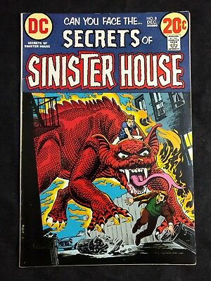 Secrets of Sinister House #8 DC Comics 1972
