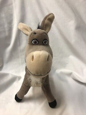 "Donkey Shrek Plush Stuffed Animal Toy Nanco 2004 11""  Dreamworks"