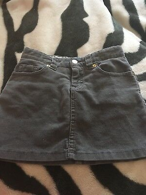 The Children's Place Girls Gray Adjustable Waist Skirt Strech with Shorts Size 6
