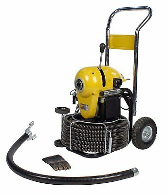Steel Dragon Tools® K1500A Sewer Line Drain Cleaning Machine fits RIDGID® Cable