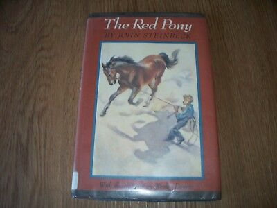 The Red Pony John Steinbeck Wesley Dennis Horse Book