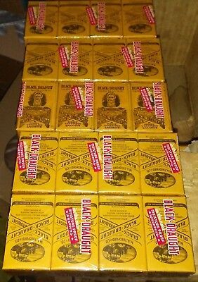 Black Draught laxative. 20 mini boxes