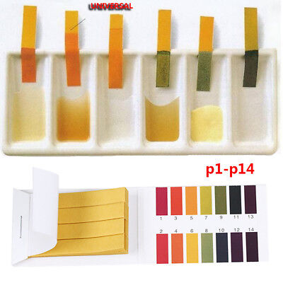 1/10 Pcs Soilsting Litmus Paper PH Test Strips Acidic/Alkaline Indicator