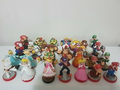 Mario brothers amiibos - complete set - Australian 1st editions - out of box