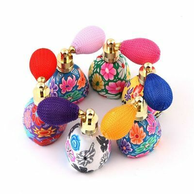 Polymer Clay Refillable Bottle Essential Oil Bottles Perfume Bottles Atomizer