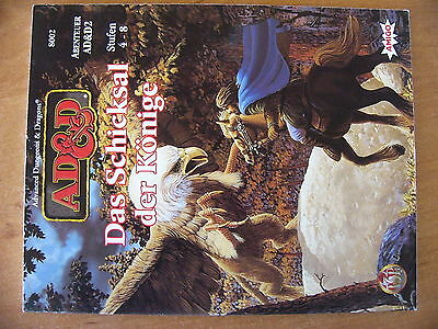 AD&D Advanced Dungeons & Dragons Das Schicksal der Könige AD&D2 Stufe 4-8