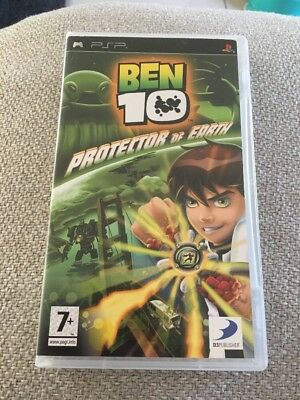 Ben 10 - Protector Of Earth - Psp - Case Only ( No Game)