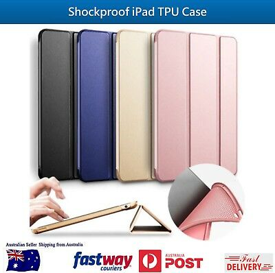 iPad Shockproof TPU Case Smart Stand Cover for iPad 2 3 4/Mini/Pro 9.7/Air 1 2