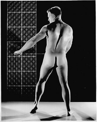 """Gay Interest - Vintage - Male Physique Photograph  BRUCE OF LOS ANGELES  8 X 10"""""""