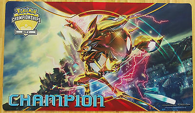 Pokemon Turbo Zoroark City Champion Spielmatte/Playmat Neu