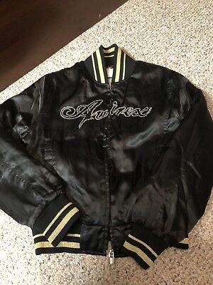 Avirex Jacket Black and Yellow Mens Size L