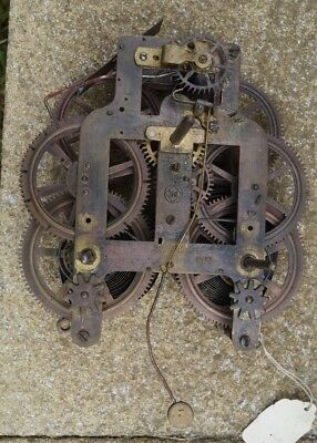 Seth Thomas  Wall / parlour clock movement. Spares / repair