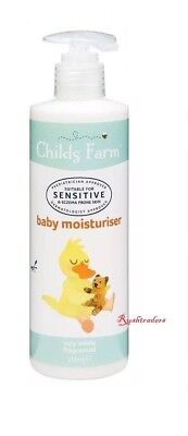 Childs Farm Baby Moisturiser Shea and Cocoa butter Eczema Prone Skin 250ml New
