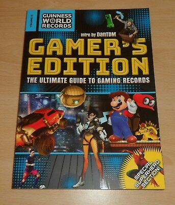 Guinness World Records Gamer's Edition 2018 (Paperback) Ultimate Guide Gaming