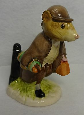 """BEATRIX POTTER Figurine - Johnny Town - MOUSE WITH BAG - 3-1/2"""" - SIGNATURE MARK"""