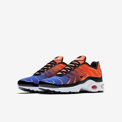 finest selection d9983 894e1 NIKE AIR MAX Plus se Tn Tuned GS AR0006-800 orange blue