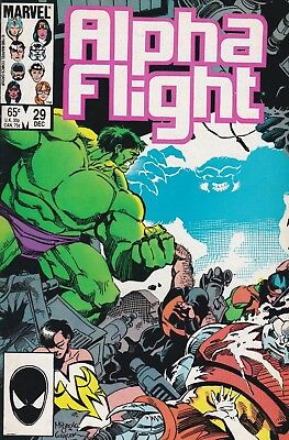 Alpha Flight #29 (Dec 1985, Marvel Comics)***FN-