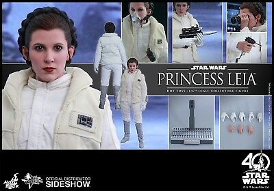 """Hot Toys - Star Wars - Princess Leia Hoth Outfit  -  MMS 423 - 1/6 12"""" Figur"""