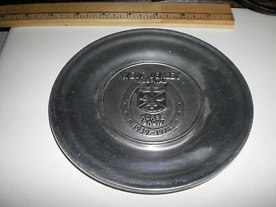 West Jersey Hospital Horse Show pewter plate 1974