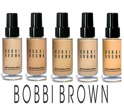 Bobbi Brown Skin Foundation SPF 15. ALL SHADES. Full size 30ml. Brand NEW