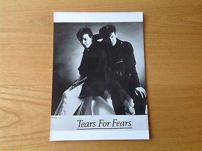 Photo Presse Tears For Fears   Annees 80