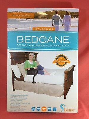 Stander Bed Cane Adult Home Bedside Safety Handle For In & Out of Bed NRFB