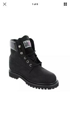 Safety Girl II Steel Toe Work Boots - Black