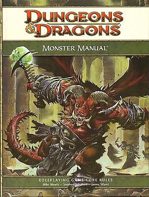 *Dungeons & Dragons-D&D-MONSTER MANUAL-CORE RULEBOOK-RPG-(HC)-engl.-new-rare