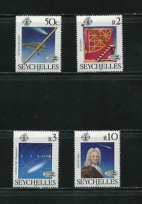 Seychelles  1986  #585-8    comet space Halley  4v.  MNH   F562