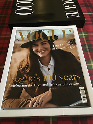 Vogue Magazine Centenary Issue In Presentation Box, New, As Delivered