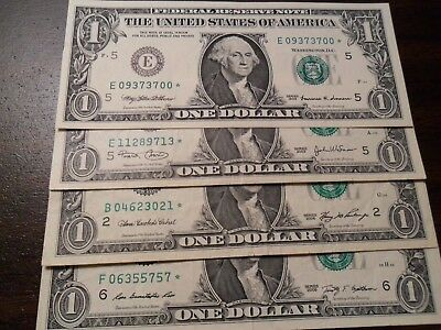 $1 2009* Star Note- Federal Reserve Note- Atlanta Bank (F)