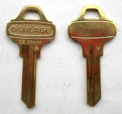 (1)  Schlage Everest    Key Blank       C123