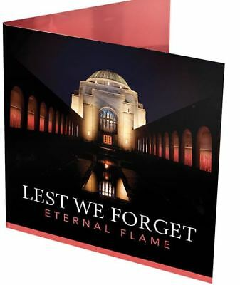 2018 $2 LEST WE FORGET Mintmark 'C' Coin on Card