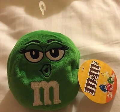 M&M's Plush Doll Character Ball Green Toy *NEW w/ TAG*