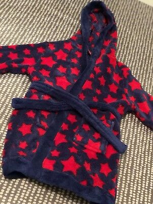 Baby Boy Dressing Gown 9-12 Months