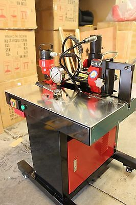 Hydraulic Metalwork Station, hole punch, Guillotine Metal Cutter, Metal Folder
