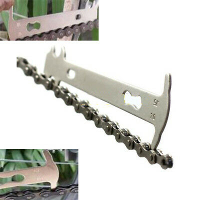 Bike Bicycle Chain Measurement Ruler Chain Tape Cycling Chain Bike Tool Kits