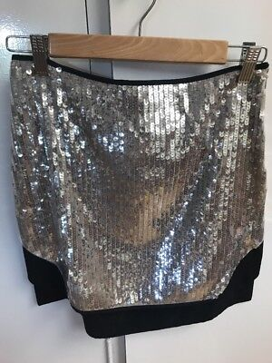 August The Label Sequin Skirt Size 6