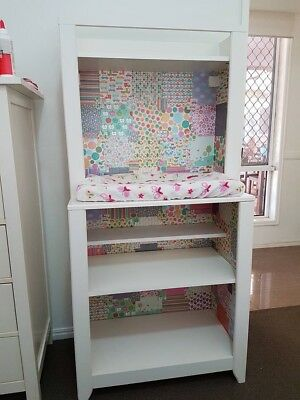 Ikea HENSVIK baby change table with mat and 2 covers.