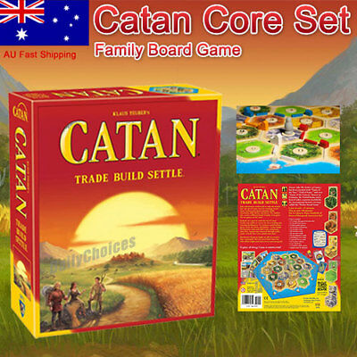 OEM Settlers of Catan Core Set Family Board Game (5th edition)