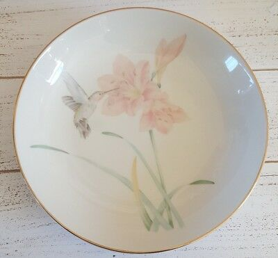 Crowning Touch collection Made in Japan Hummingbird Plate bowl China wear