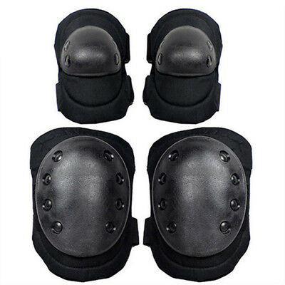 New 4 Pcs Outdoor Sport Protection KIT Knee Pads Wrist Elbow Pads Skateboard RM6