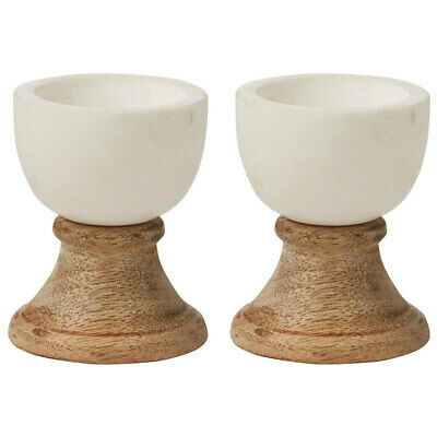 2x Academy Eliot Soft/Hard Boiled Egg Cup/Holder/Stand Marble Tableware Kitchen