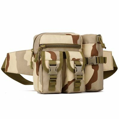 Tactical Molle Pouch Belt Waist Pack Bag Military Waist Fanny Pack Phone Pockets