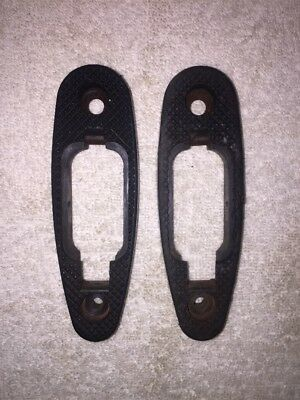 Colt Butt Plate Pad A Two for USGI Stock Trapdoor US Military Checkered Lot of 2