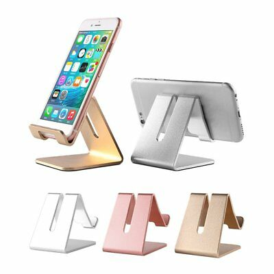 Aluminum Desk Mount Stand Holder For iPad 2 3 4 Mini Air Samsung Tablet iPhone F